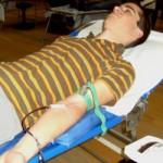 Geld machen mit Blutspenden