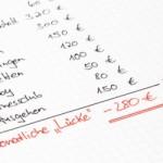 Haushaltsbuch führen – Immer den finanziellen Durchblick behalten