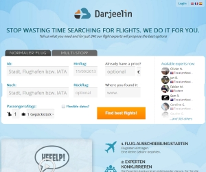 Darjeelin Crowdsourcing Ticket buchen