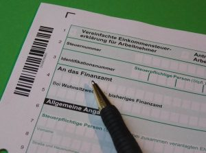 Steuerblatt zur Kleinunternehmerregelung